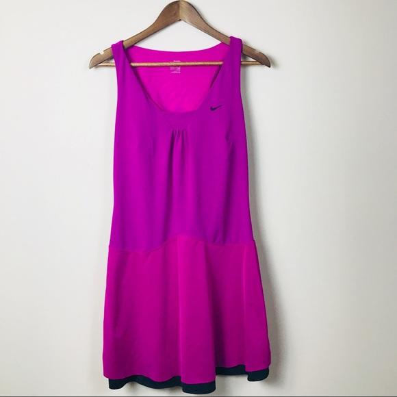 Fuschia Reverse Dress Sz M